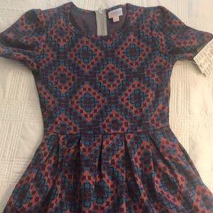 NWT LuLaRoe Amelia Dress XS